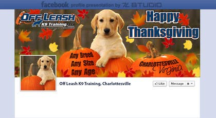 Graphic Design Contest Entry #13 for Thanksgiving Facebook Banner and Profile Pic