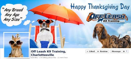 Graphic Design Contest Entry #17 for Thanksgiving Facebook Banner and Profile Pic