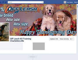 #8 para Thanksgiving Facebook Banner and Profile Pic por AlinutaM
