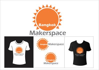 #43 for Design a Logo for a new MakerSpace in Bangkok by ArtCulturZ