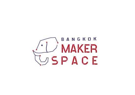 Proposition n°30 du concours Design a Logo for a new MakerSpace in Bangkok