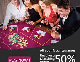 #6 for Table Games Banner for an Online Casino by muhyusuf92