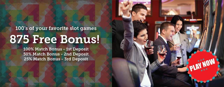Konkurrenceindlæg #3 for Slot Games Banner for an Online Casino