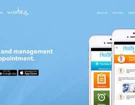 Nro 4 kilpailuun Website for Clinic Information App käyttäjältä Poornah