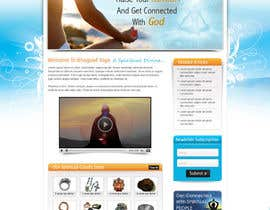 #14 para Design a Website Mockup for Bhagvad Yoga Website por atularora