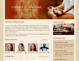 #34 para Design a Website Mockup for Bhagvad Yoga Website por uniqueclick
