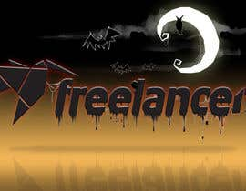 nº 13 pour Halloweenify the Freelancer.com Logo! par davidpelaez
