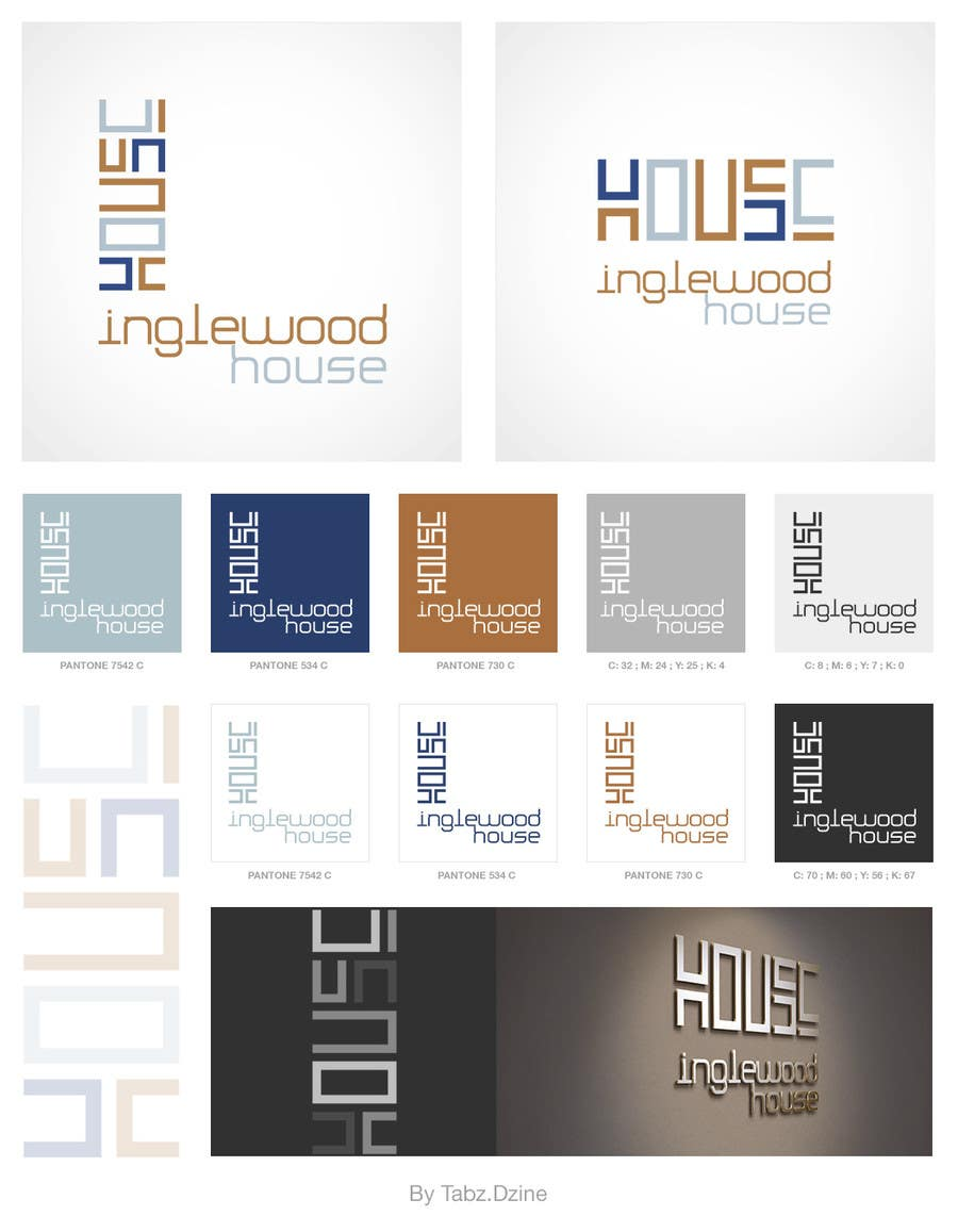 #51 for Design a Logo for Inglewood House by TabzDzine