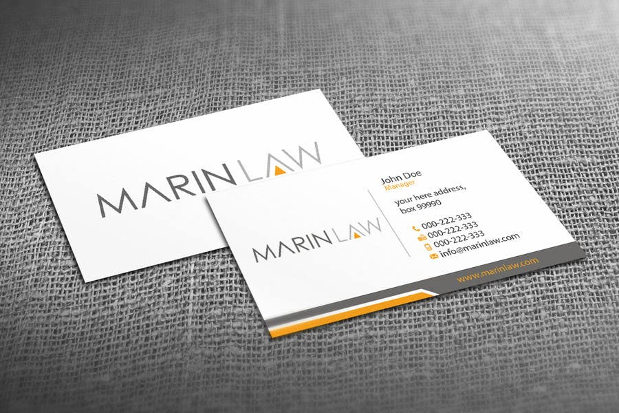 #14 for Design some Stationery for Legal Practice by HammyHS