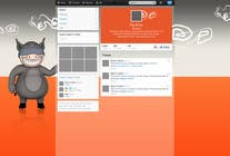 Contest Entry #10 for Design a Twitter background for pigdrive.com
