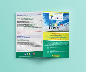 Image of                             Design an events brochure
