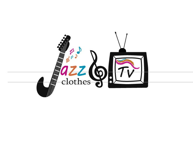 Kilpailutyö #50 kilpailussa Logo design for Jazz & Tv Clothes