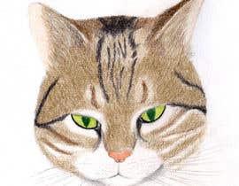 Nro 39 kilpailuun Make An Illustration (Vector or Hand Drawn) of My Cat käyttäjältä tonixclac