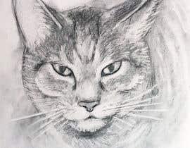 Nro 48 kilpailuun Make An Illustration (Vector or Hand Drawn) of My Cat käyttäjältä Tszocske
