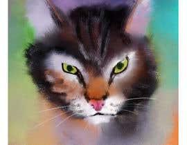 Nro 37 kilpailuun Make An Illustration (Vector or Hand Drawn) of My Cat käyttäjältä banaikhwanul