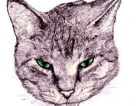 Nro 36 kilpailuun Make An Illustration (Vector or Hand Drawn) of My Cat käyttäjältä mackjyers
