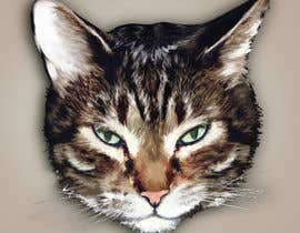 Nro 51 kilpailuun Make An Illustration (Vector or Hand Drawn) of My Cat käyttäjältä camelliatorodoc