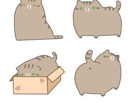 Nro 35 kilpailuun Make An Illustration (Vector or Hand Drawn) of My Cat käyttäjältä pandahh