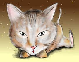 cpyton tarafından Make An Illustration (Vector or Hand Drawn) of My Cat için no 10