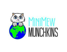 Nro 14 kilpailuun Design a Logo for MiniMew Munchkins käyttäjältä riyutama