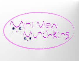 #33 for Design a Logo for MiniMew Munchkins by rasithagamage