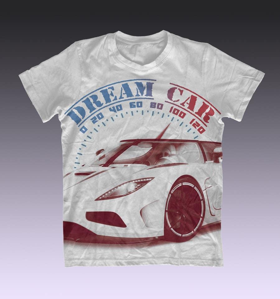 #11 for Design en T-Shirt for Car fans! by cagor