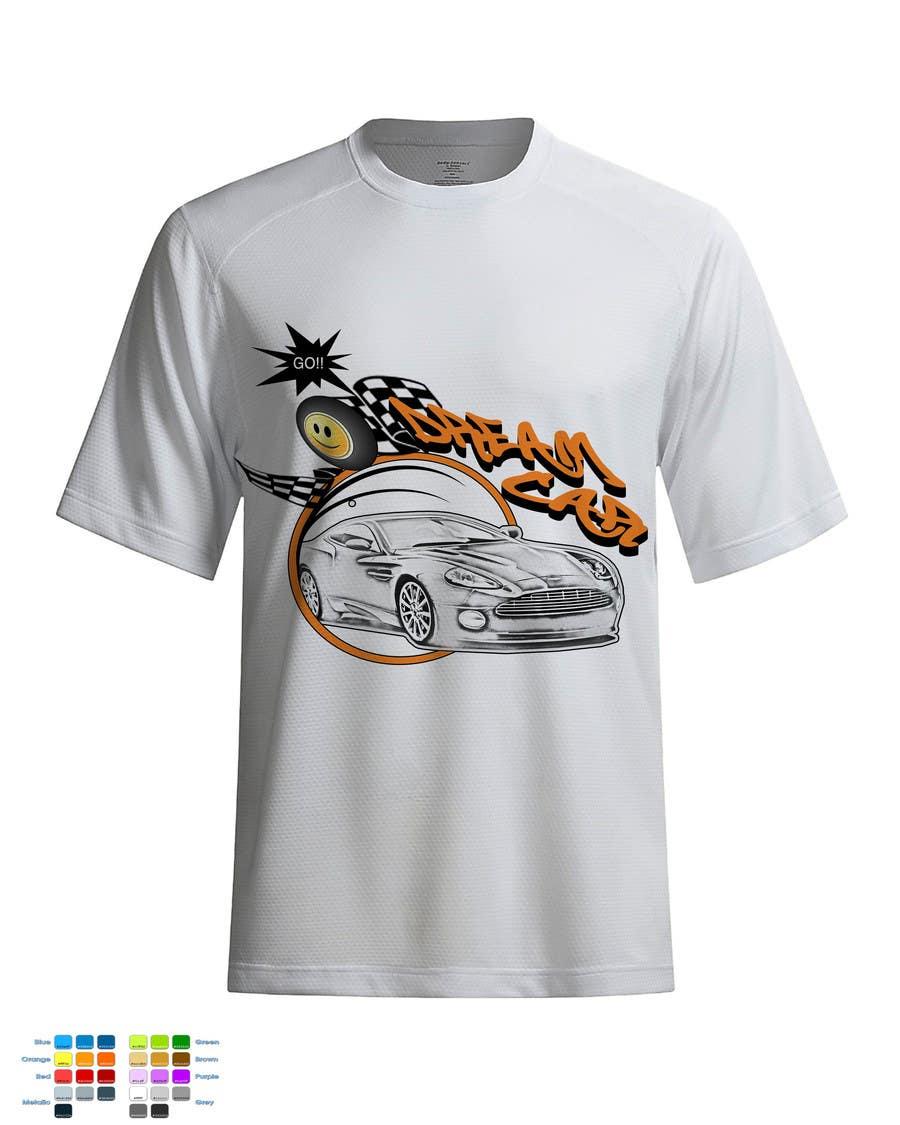 #15 for Design en T-Shirt for Car fans! by ingutza