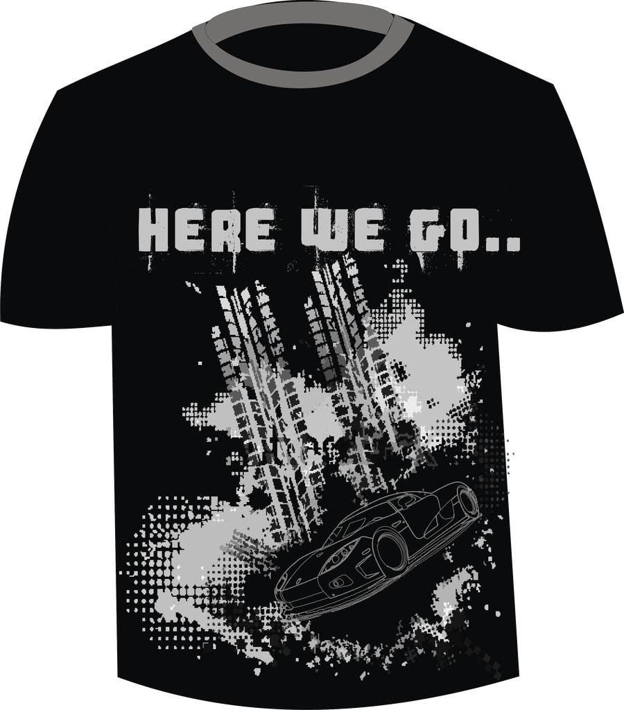 #16 for Design en T-Shirt for Car fans! by Jithamol
