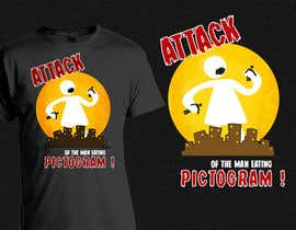 #17 para Attack of the man eating pictogram! por linxoo