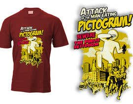 nº 18 pour Attack of the man eating pictogram! par dsgrapiko