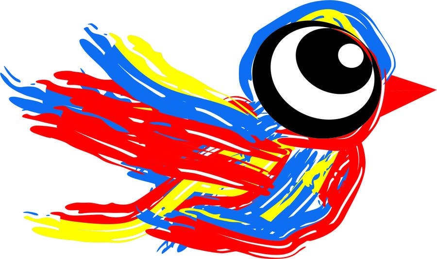 Bài tham dự cuộc thi #40 cho Draw a cute bird for an advertising flyer