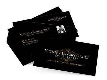 #22 for Design some Business Cards for Victory Luxury Group by anacristina76