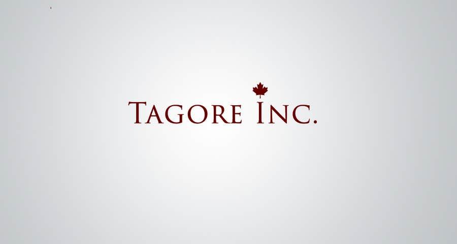 Proposition n°                                        23                                      du concours                                         Design a Logo for Tagore Inc.