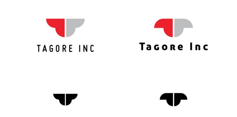 Proposition n°                                        95                                      du concours                                         Design a Logo for Tagore Inc.
