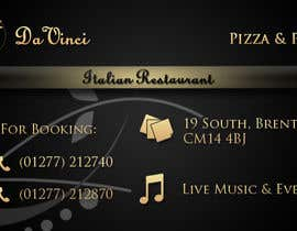 #6 for Design some Business Cards for Italian restaurant af stniavla