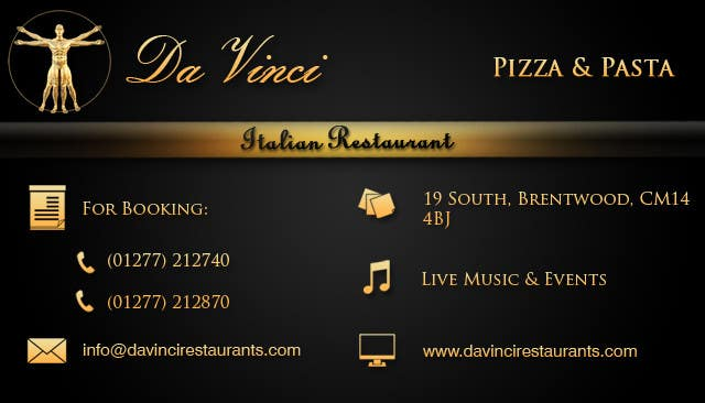 Entry 12 by stniavla for design some business cards for italian contest entry 12 for design some business cards for italian restaurant colourmoves