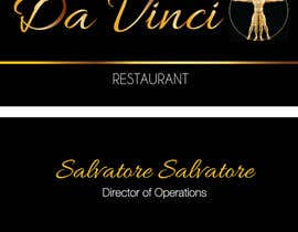 nº 2 pour Design some Business Cards for Italian restaurant par karmenflorea