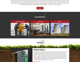 Nro 51 kilpailuun Construction company website käyttäjältä Bkmraj