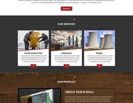 Nro 53 kilpailuun Construction company website käyttäjältä Bkmraj