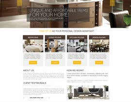 #20 for Design a Website Mockup for new furniture center in Thailand af praveencp