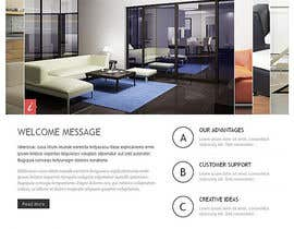 #23 para Design a Website Mockup for new furniture center in Thailand por anup27931