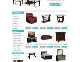 #7 para Design a Website Mockup for new furniture center in Thailand por atularora