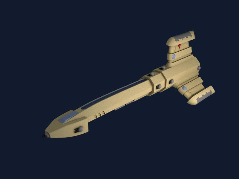 #17 for Do some 3D Modelling for a SciFi Video Game by tommasomasiero