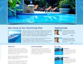 aryamaity tarafından Wordpress Template For Swimming Pool Company için no 30