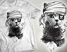 #38 for Design a Cat t-shirt by milanlazic