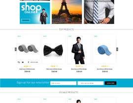Nro 3 kilpailuun Design a Website Mockup käyttäjältä jkphugat