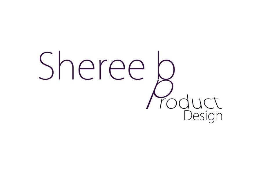 """Intrarea #133 pentru concursul """"Logo Design for Sheree B Product Design"""""""