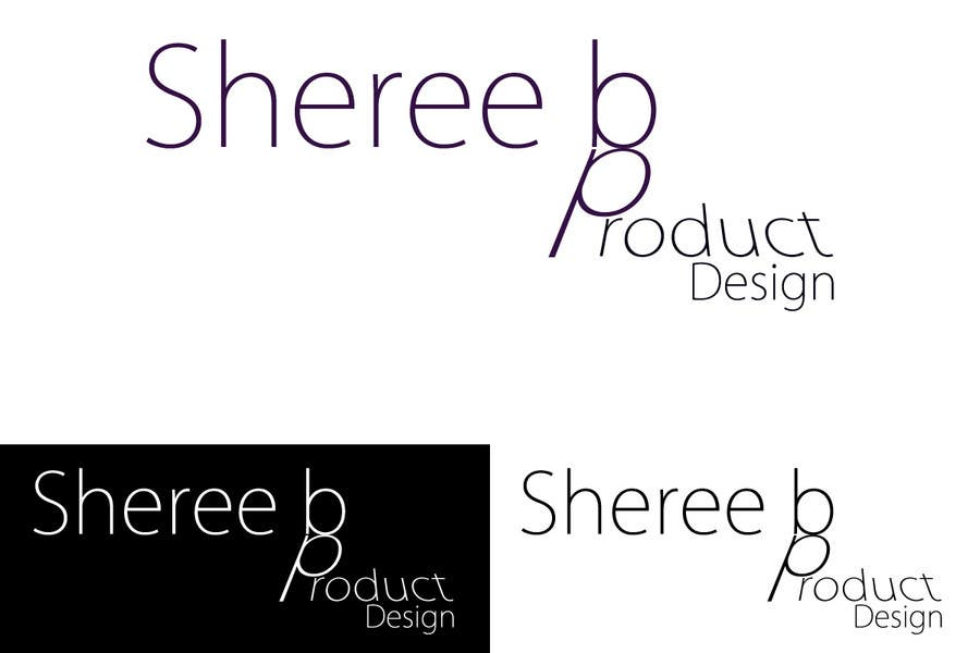 Contest Entry #134 for Logo Design for Sheree B Product Design