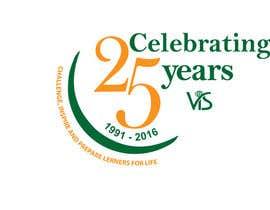 afsana2324 tarafından 25th anniversary school logo için no 62
