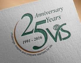 manweljs tarafından 25th anniversary school logo için no 15